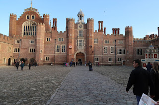 Inner Courtyard at Hampton Court Palace