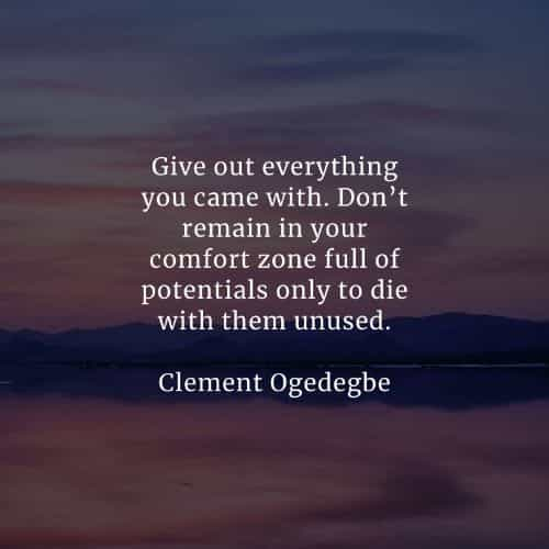 Comfort zone quotes that'll make a positive change in you