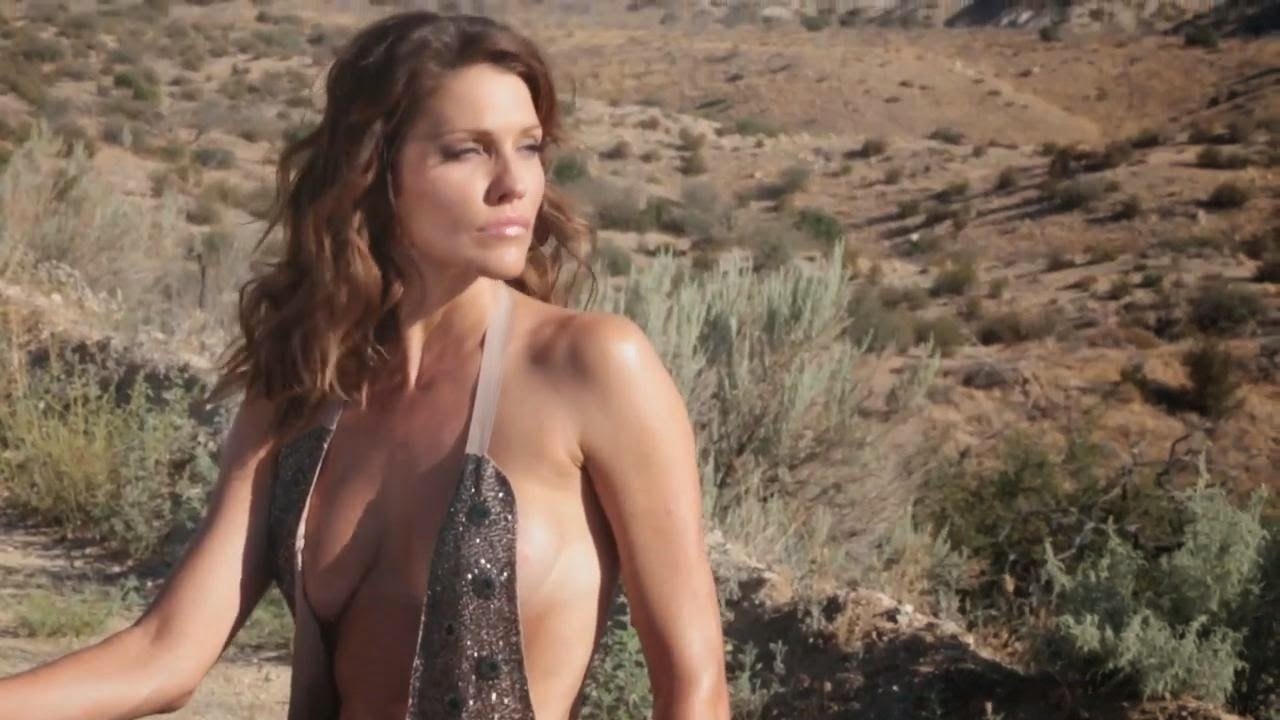 Angels In World: Tricia Helfer & Katee Sackhoff - Acting Outlaws 2013 calendar photoshoot videocaps