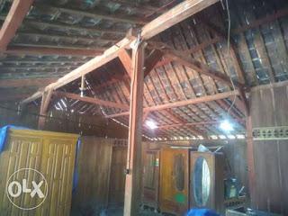 Rumah kayu jati limasan
