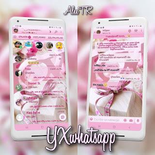 Gift Theme For YOWhatsApp & YX WhatsApp By 𝔸𝕝𝕖𝕖