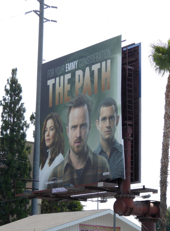 The Path season 1 Emmy consideration billboard