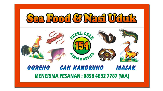Contoh Desain Spanduk Kain Lamongan, Pecel Lele, Sea Food ...