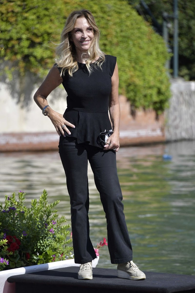 Maria Leitner at Hotel Excelsior in Venice 2 Sep -2020
