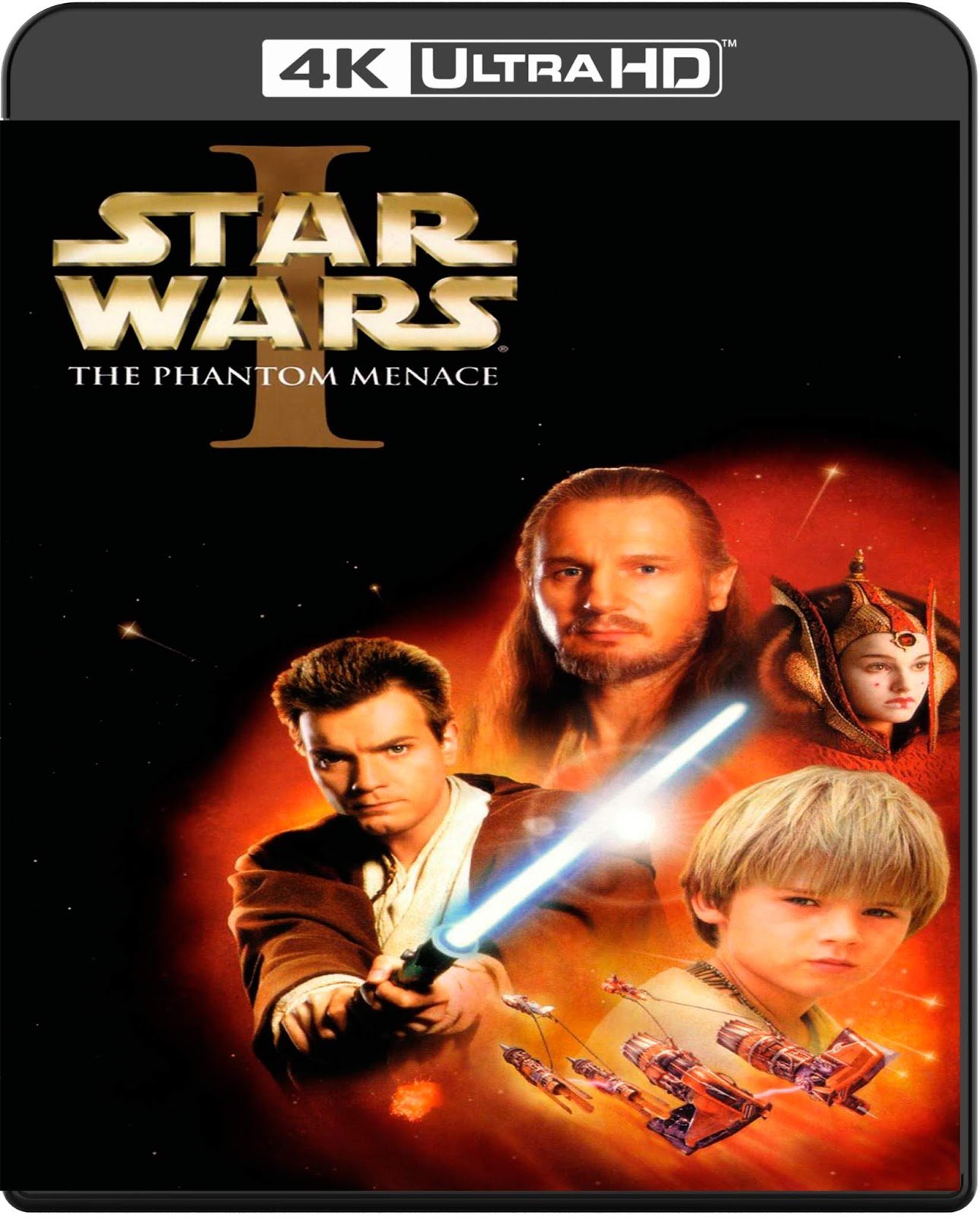 Star Wars. Episode I: The Phantom Menace [1999] [UHD] [2160p] [Latino]