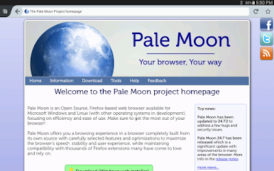 Free Download Pale Moon Browser Latest