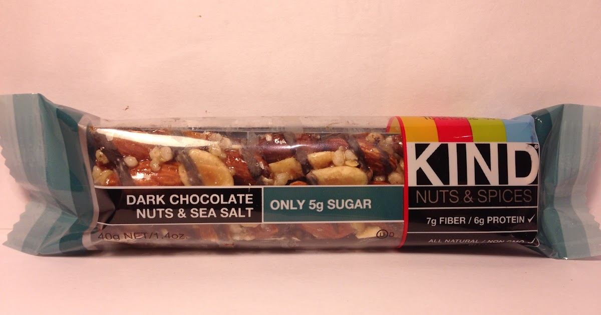 Crazy Food Dude Review KIND Nuts Spice Dark Chocolate