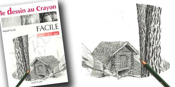 Livre Le Dessin Au Crayon Facile Pas A Pas Miquel Cardil