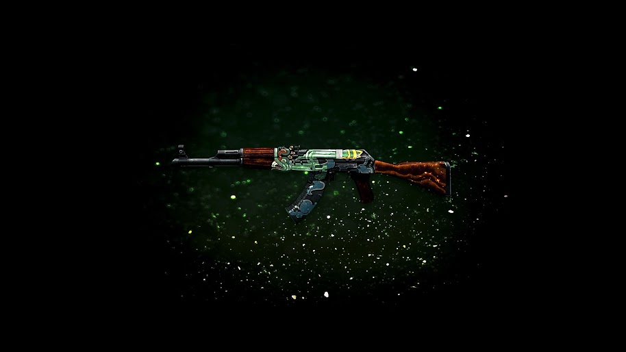 Csgo Ak 47 Fire Serpent Skin 4k 3840x2160 Wallpaper 1