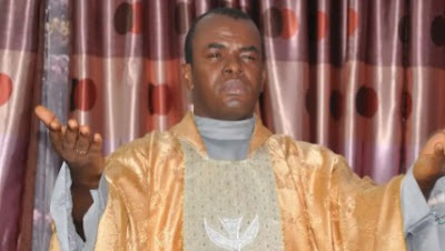 Father Mbaka Reacts To Viral Video Of His Burning Church