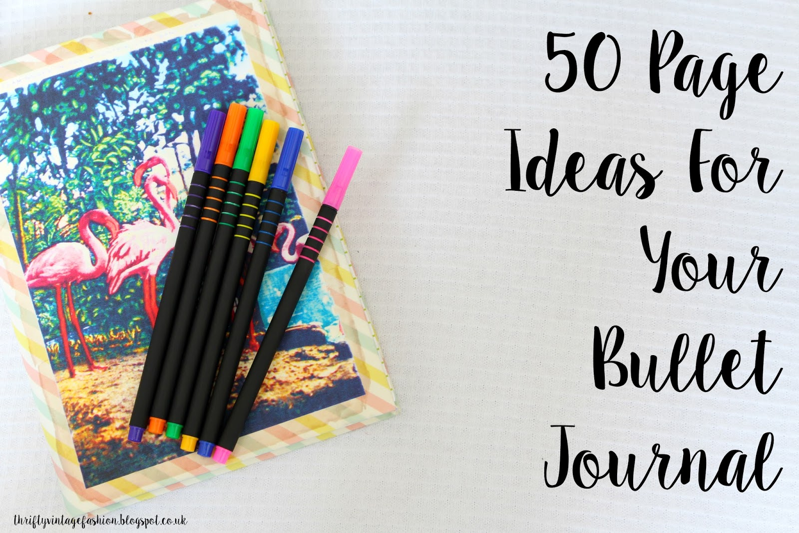 Beautiful writing journals