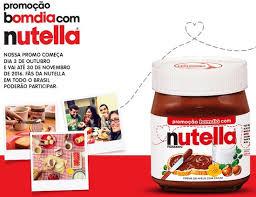 Promoção Bom dia com Nutella