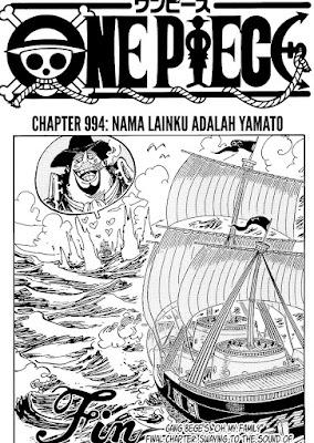 Update! Baca Manga One Piece Chapter 994 Full Sub Indo