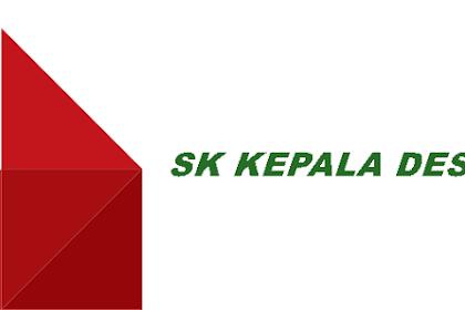Contoh SK Kades tentang Penetapan Data Penerima BLT Dana Desa
