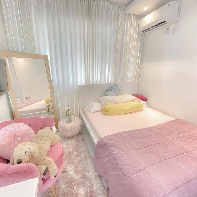 Kamar Tidur Remaja Perempuan Nuansa Pink