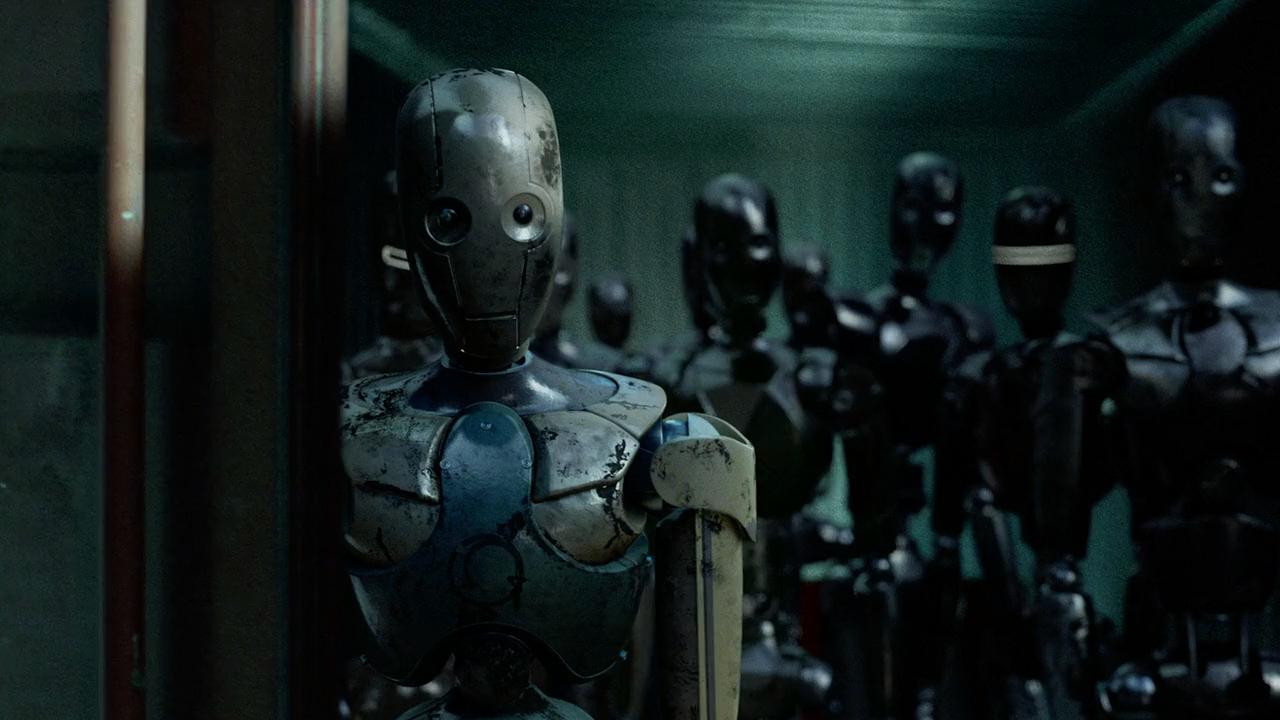 Yo, Robot (2004) BRRip 720p Latino-Ingles [Open Matte] captura 3