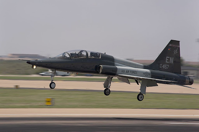 USAF T-38 Talon crashes Sheppard