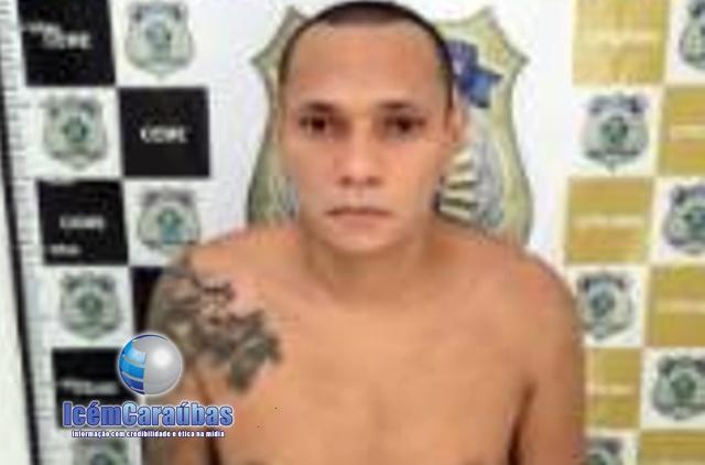 Ação conjunta da polícia de Patu prende homem foragido da Justiça por tráfico