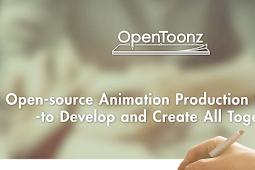 Sekarang Kamu bisa membuat cartoon dengan mudah menggunakan OpenToonz Free