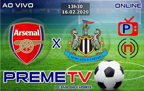 Arsenal x Newcastle United Ao Vivo