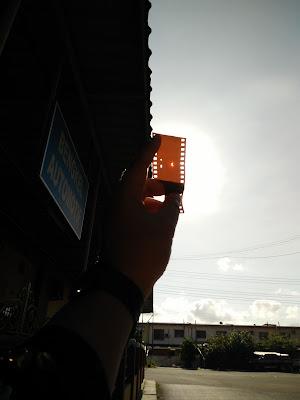 Gambar Kejadian Gerhana Matahari 9 Mac 2016 di Tawau