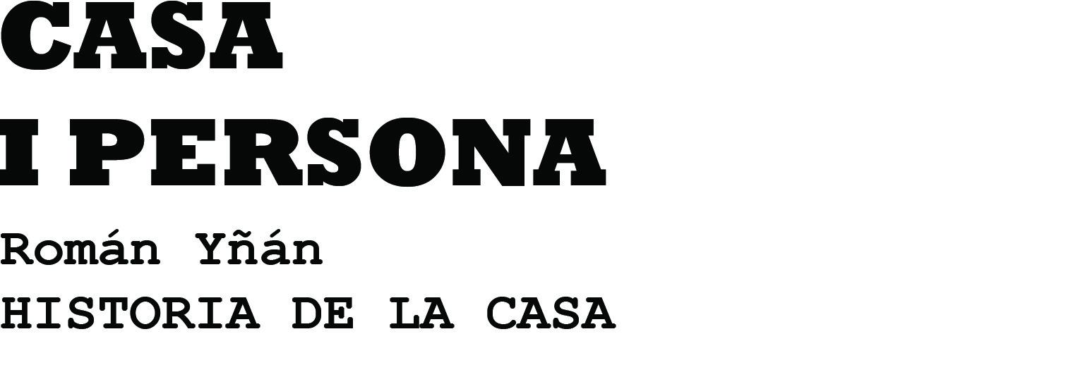 LOS VACIOS URBANOS _ Clara Nubiola: CASA I PERSONA