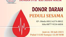 BFLF Medan In Action Berhasil Kumpulkan 23 Kantong Darah