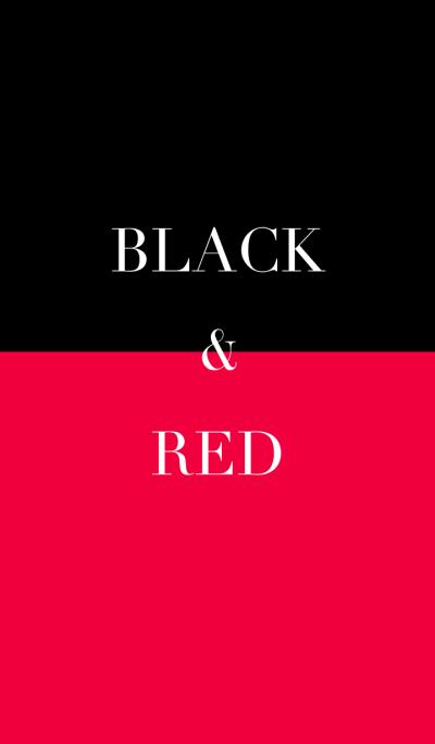 black & red [vivid]