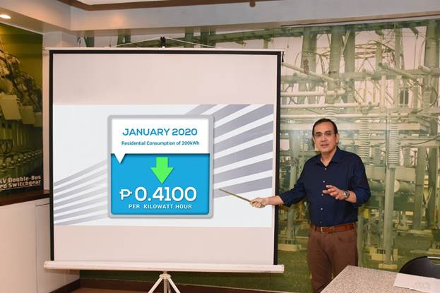 Meralco Rates Down To Start Off 2020