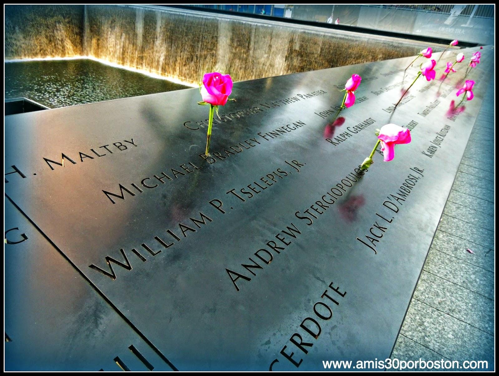 Segunda Visita a Nueva York: 9/11 Memorial Plaza
