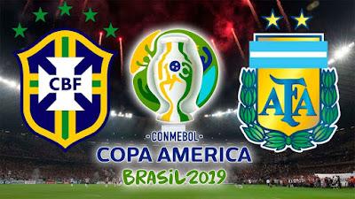 Copa: Em busca de uma vaga na finalíssima seleção brasileira encara os hermanos