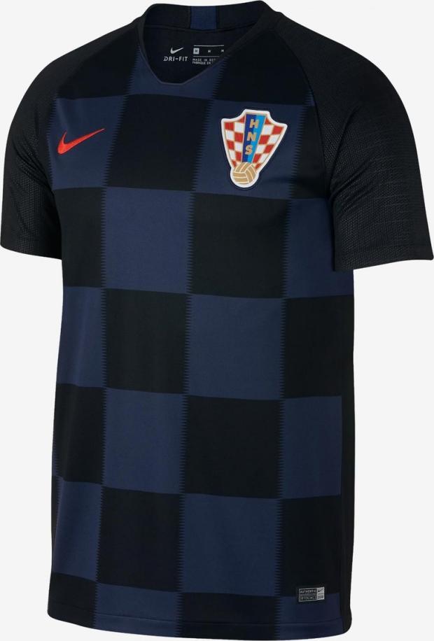 a11a34d54e Nike lança as novas camisas da Croácia para a Copa do Mundo - Show ...