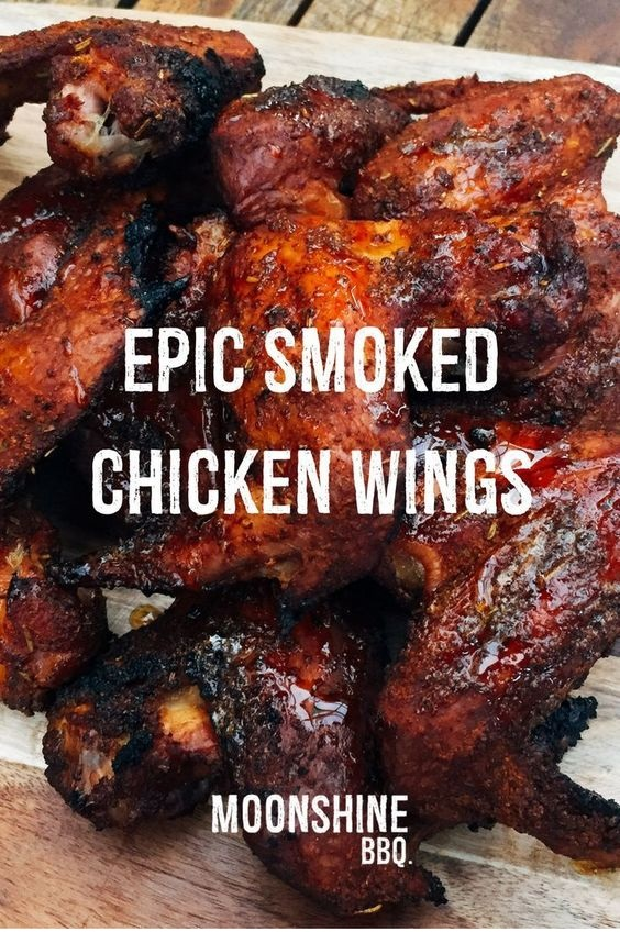 Epic Smoked Chicken Wings