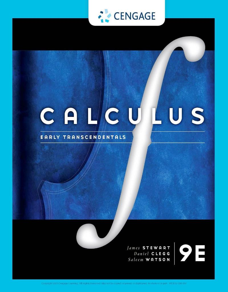 Calculus. Early Transcendentals, 9th Edition – James Stewart