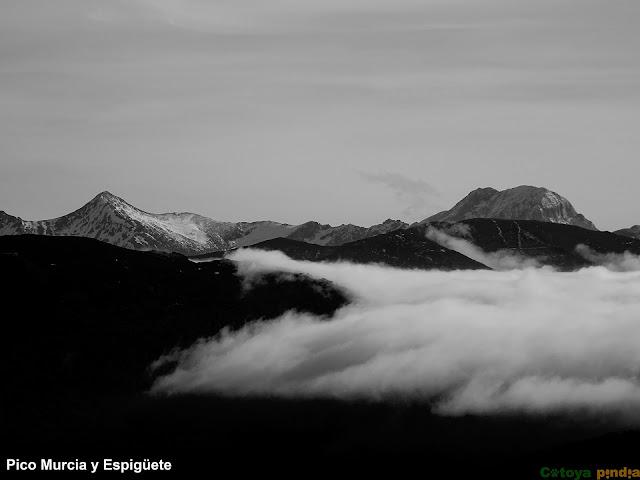 Vistas hacia la Montaña Palentina