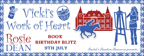 French Village Diaries book review Vicki's Work of Heart by Rosie Dean