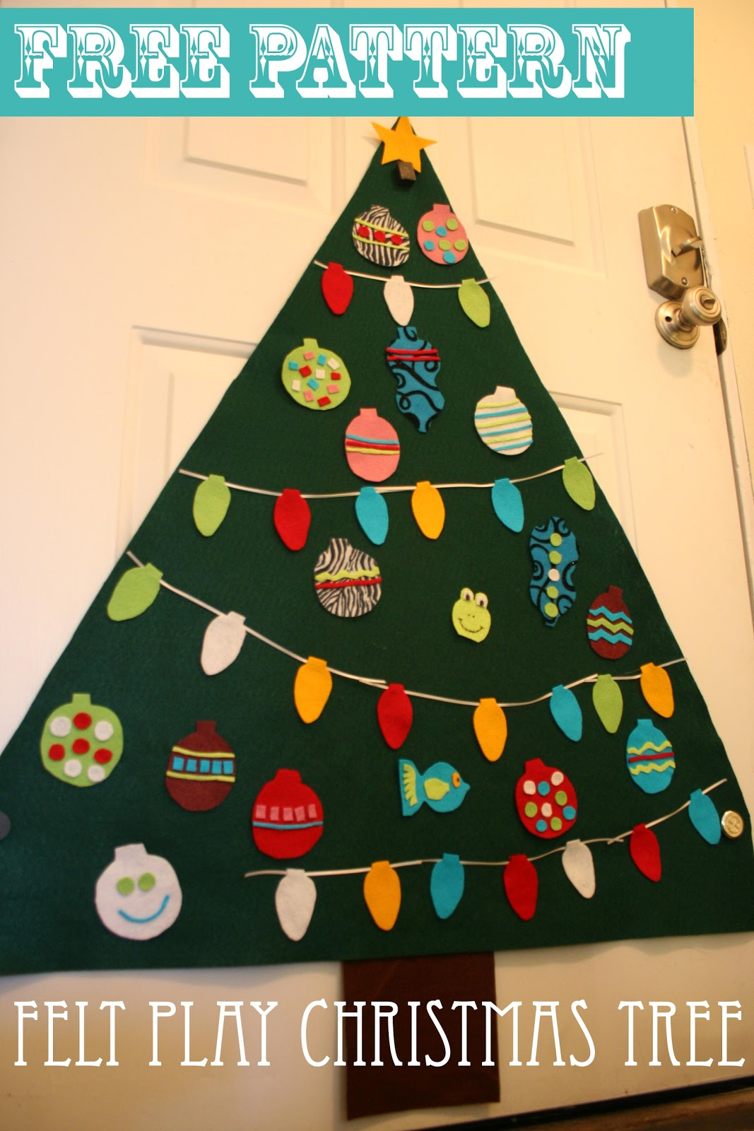 Spaghetti Westerner: 12 Days of Homemade Christmas: Felt ...
