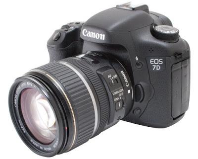 Canon EOS 7D DSLRダウンロードフルドライバー