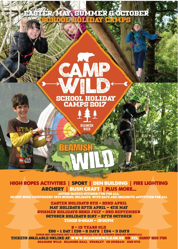 Beamish Wild | School Holiday Club & Activities in County Durham | North East England - dates and times