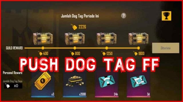 Cara Mendapatkan Dog Tag FF