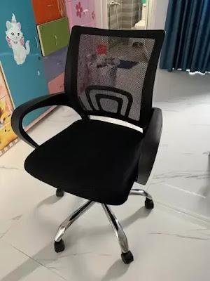 Ghế văn phòng GLMV1, Ghế văn phòng chân xoay, ghế văn phòng lưng lưới - 6