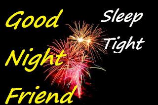 good night friends photo