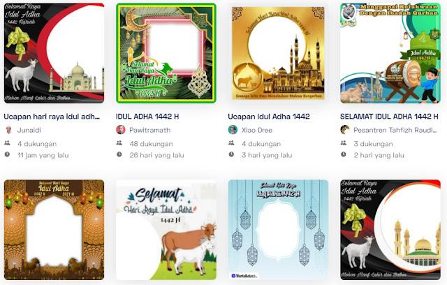 100 Twibbon Hari Raya Idul Adha 1442 H Tahun 2021