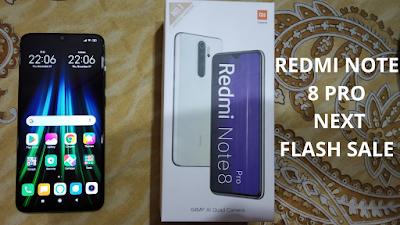 Redmi Note 8 Pro Next Sale Date