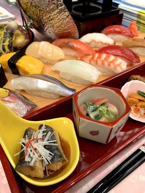 wax sushi at HYPER JAPAN