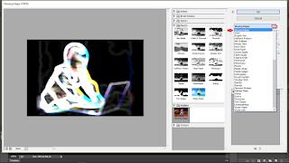 5 Langkah Cara Membuat Efek Glowing Edge Menggunakan Adobe Photoshop Secara Mudah Untuk Pemula