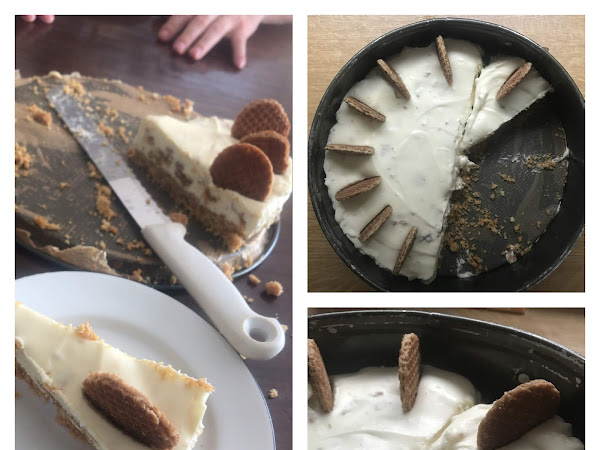 No bake stroopwafel cheesecake | Pinterest probeersel
