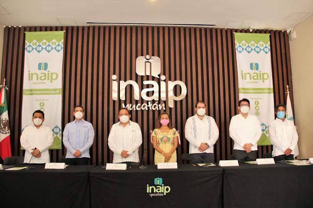 Instalan secretariados técnicos estatal y municipal de Gobierno Abierto en Yucatán