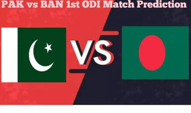 Bangladesh vs Pakistan 1st ODI Match Today Match Prediction