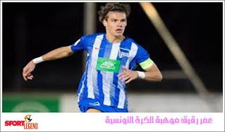 عمر رقيق موهبة الكرة التونسية